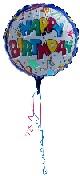 birthday balloon single