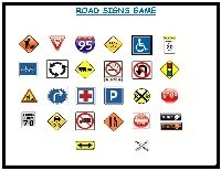 road signs travel game